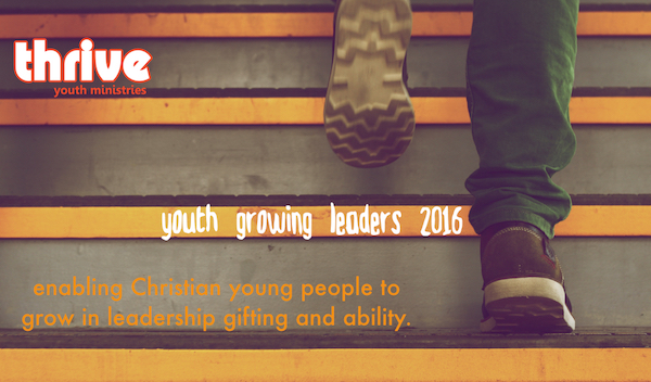 Apply to be on our next youth Growing Leaders course today!