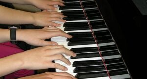 integrate at the piano