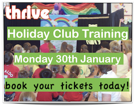 Children's holiday club training event