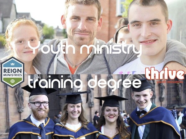 Thrive is helping more people to become youth workers