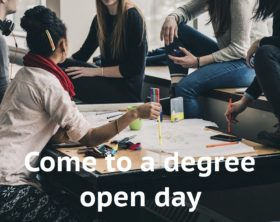 Degree course open days
